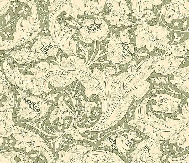 ilustrações, clipart, desenhos animados e ícones de seamless pattern for printing on fabric, paper, web design, packaging. - molduras decorativas