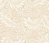 Modern seamless pattern for your design. Modern floral seamless pattern. Seamless pattern for printing on fabric, paper, web design, packaging. Background. Vector.