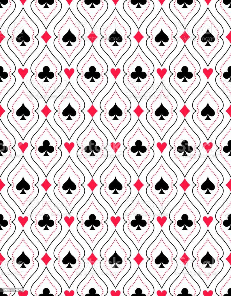 Seamless pattern from - ilustração de arte em vetor