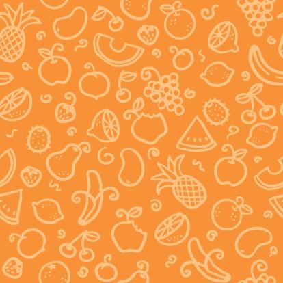 seamless pattern: fruit