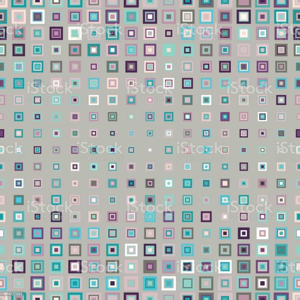 無縫圖案幾何正方形 免版稅 無縫圖案幾何正方形 向量插圖及更多 callum blue 圖片