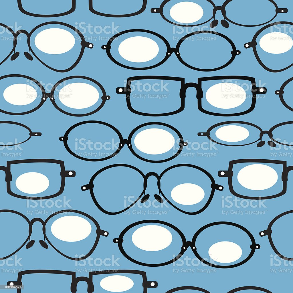 seamless pattern glasses royalty-free seamless pattern glasses stock vector art & more images of backdrop