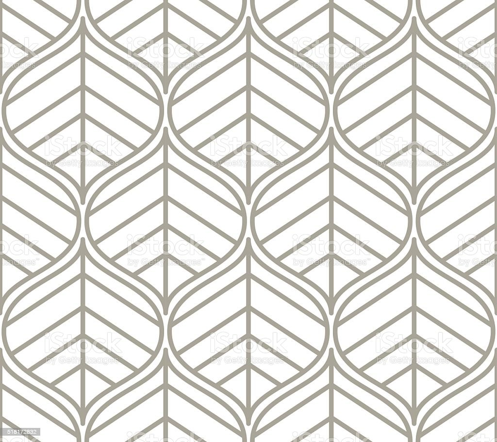 Seamless pattern. Graphic ornament. vector art illustration