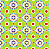 Seamless pattern green geometric pattern patterns  tribal style.