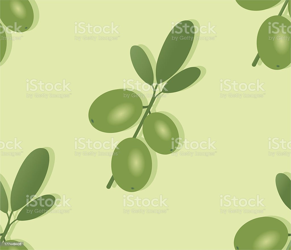 seamless pattern, green olives. royalty-free seamless pattern green olives stock vector art & more images of antipasto