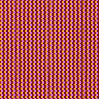 Seamless pattern. Hexagons ornament. Tiles background. Hexahedrons wallpaper. Ethnic motif. Geometrical backdrop. Digital paper. Mosaic textile print. Geometric web designing. Vector artwork