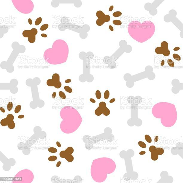 Seamless pattern i love dog theme bone and foot print vector id1003319134?b=1&k=6&m=1003319134&s=612x612&h=bldou8jcgvrjs6zwhz7uqpl03b6zx 18mdymomseslm=