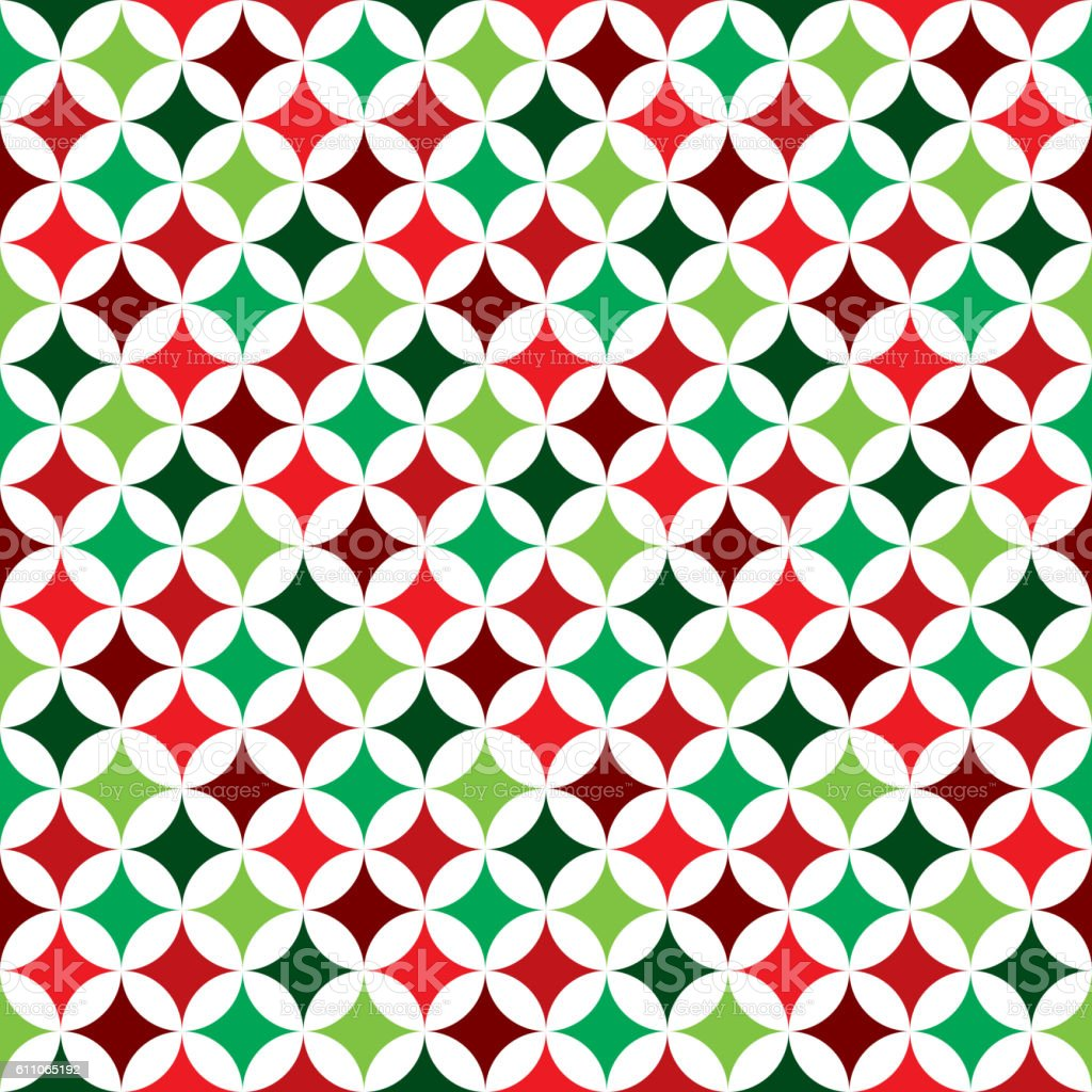 seamless pattern illustration on a Christmas Holiday theme vector art illustration