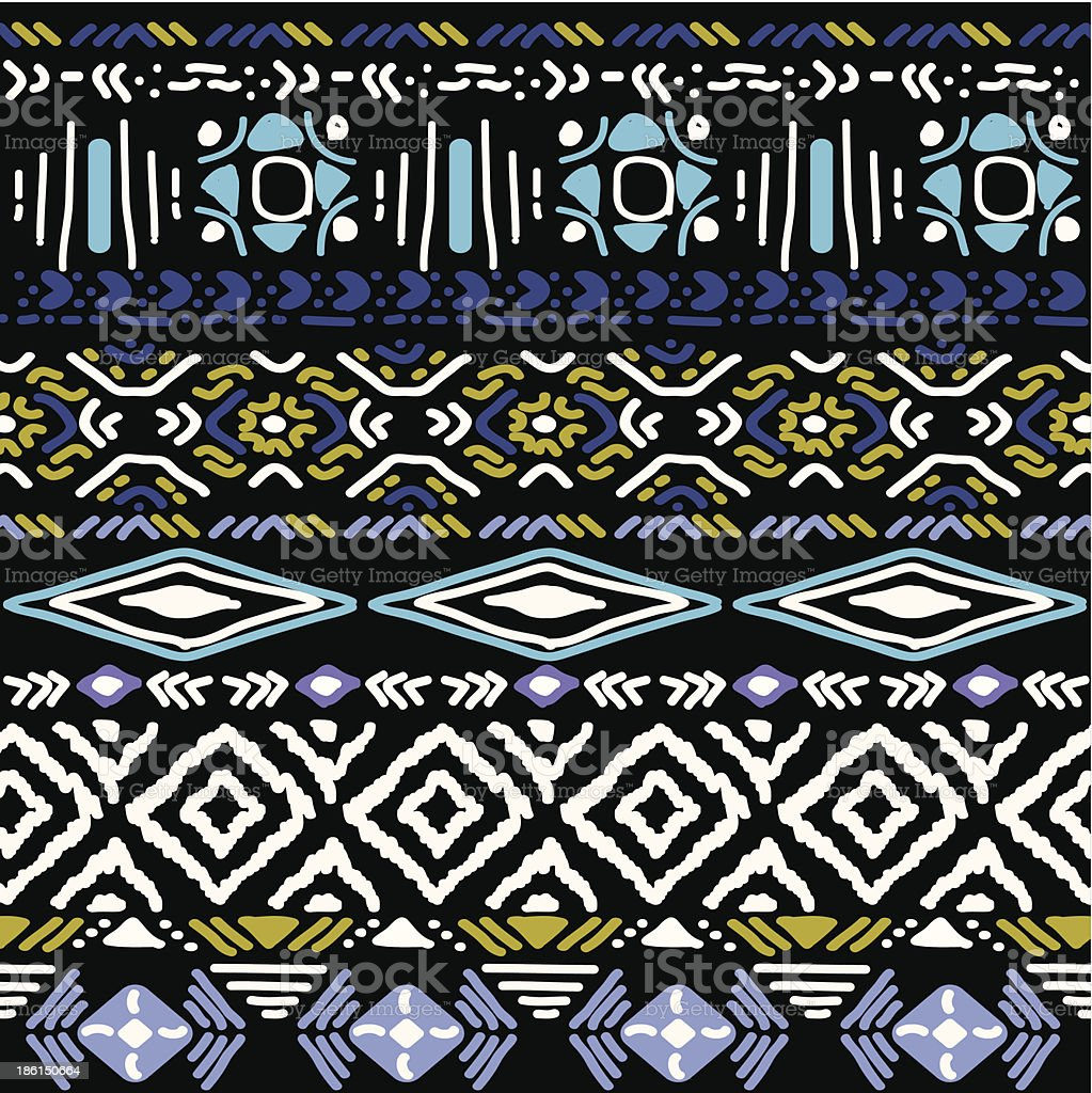 seamless pattern in aztec style royalty-free seamless pattern in aztec style stock vector art & more images of american culture