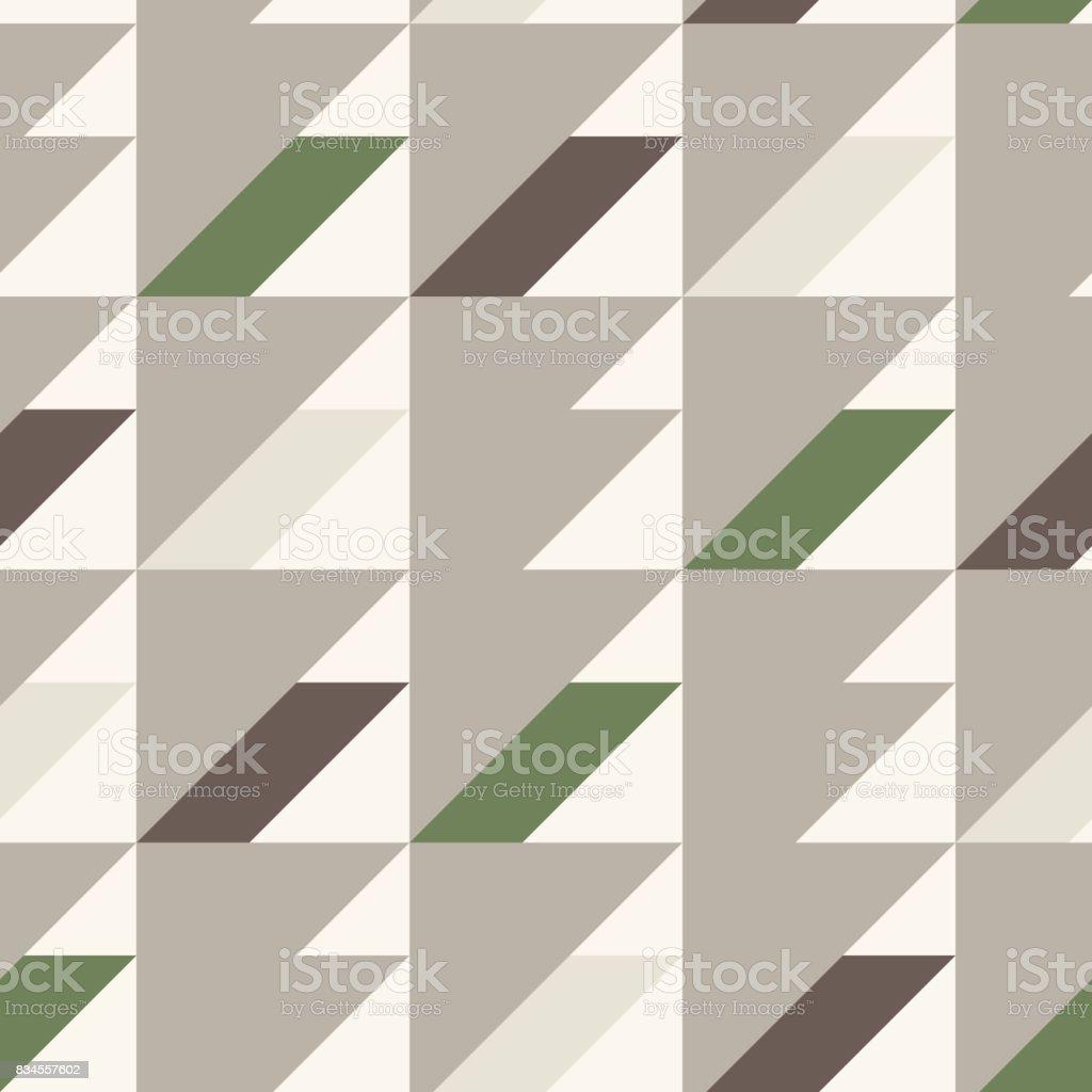 Nahtlose Muster In Den Farben Grau Braun Weiß Grün Geometrische ...