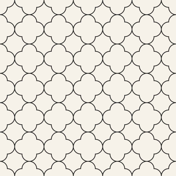 seamless pattern in oriental style - arab stock illustrations