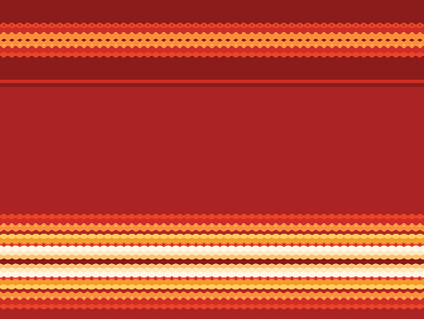 Seamless pattern in red and yellow