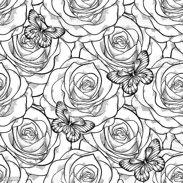 Seamless pattern in roses with contours vector id525740025?b=1&k=6&m=525740025&s=612x612&h=ax7pi3zitofzetotybocojw5eq8ph32lbaqcjyw6snu=