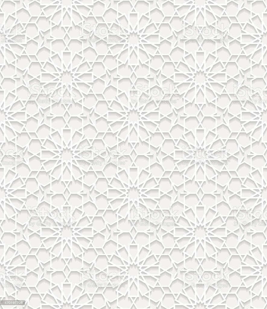 Nahtlose Muster in traditionellem Stil – Vektorgrafik