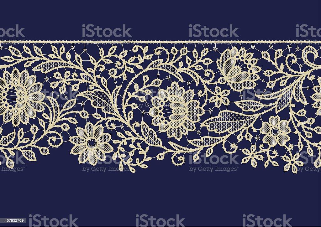 Seamless Pattern Lace Ribbon royalty-free stock vector art