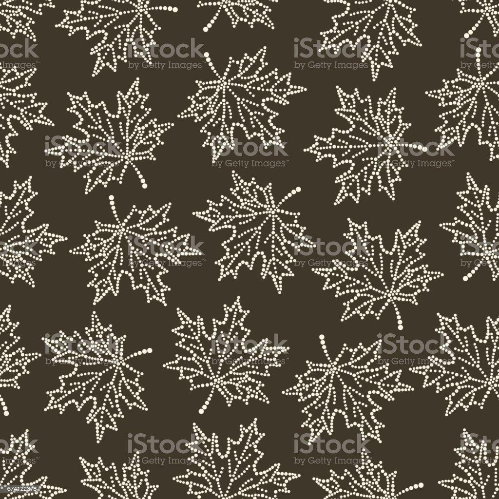 seamless pattern maple leaf 02 免版稅 seamless pattern maple leaf 02 向量插圖及更多 俄羅斯 圖片