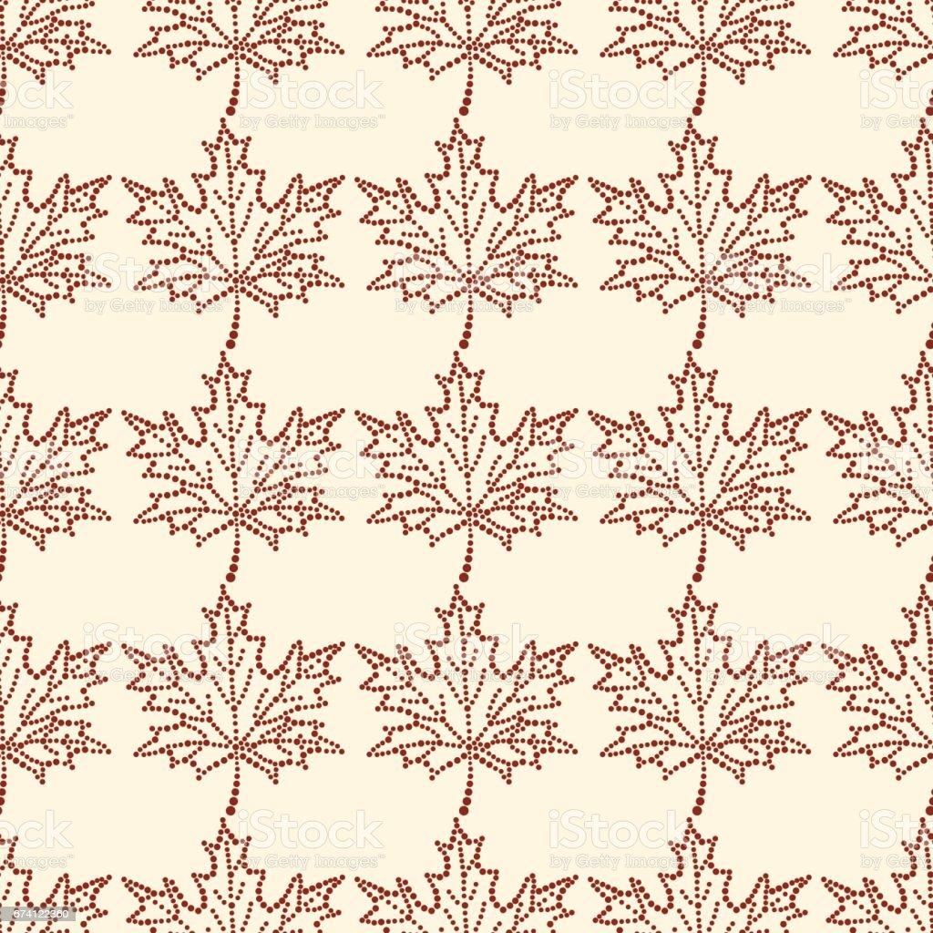 seamless pattern maple leaf 免版稅 seamless pattern maple leaf 向量插圖及更多 ink wash painting 圖片