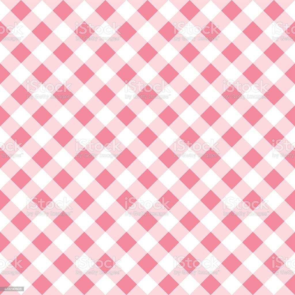 Bon Seamless Pattern Of A Pink White Plaid Tablecloth Royalty Free Seamless  Pattern Of A Pink