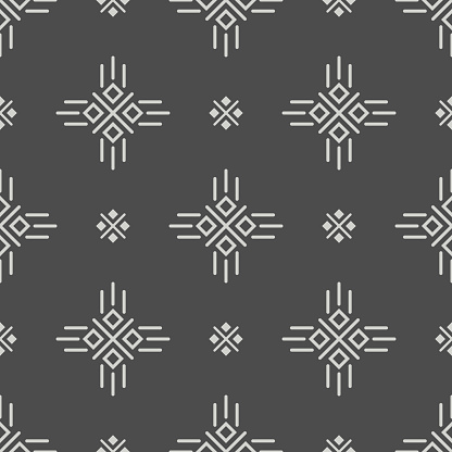 Seamless pattern of ancient