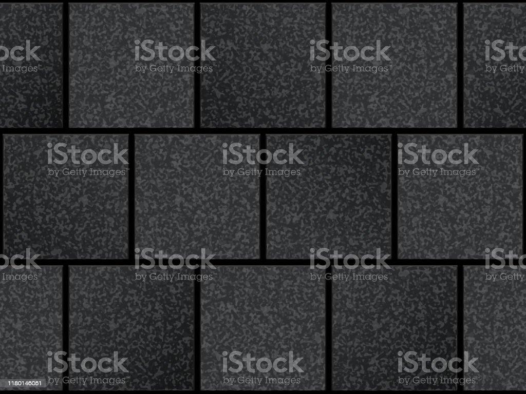 Seamless Pattern Of Cobblestone Pavement Stock Illustration Download Image Now Istock