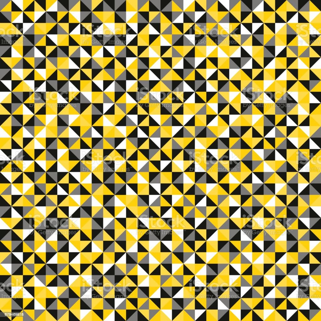 Seamless pattern of geometric shapes. Colorful mosaic backdrop. 免版稅 seamless pattern of geometric shapes colorful mosaic backdrop 向量插圖及更多 low-poly-modelling 圖片