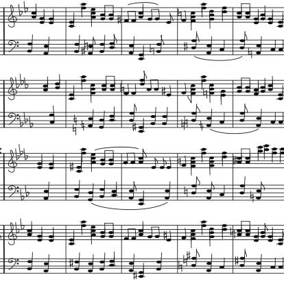 Wzór Bez Szwu Muzyka Notatki Klepkowy - Stockowe grafiki wektorowe i więcej obrazów Akord