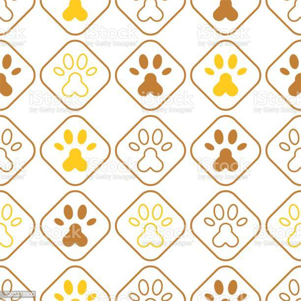 Seamless pattern of paw foot print for wrapping paper or use as vector id1003318900?b=1&k=6&m=1003318900&s=612x612&h=fjbzlp2wwmttx8xzvfxcmdwlybzqtws9hpphwxmvxsm=