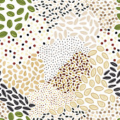 istock Seamless pattern of seeds. Kitchen, cooking print. 1262297025