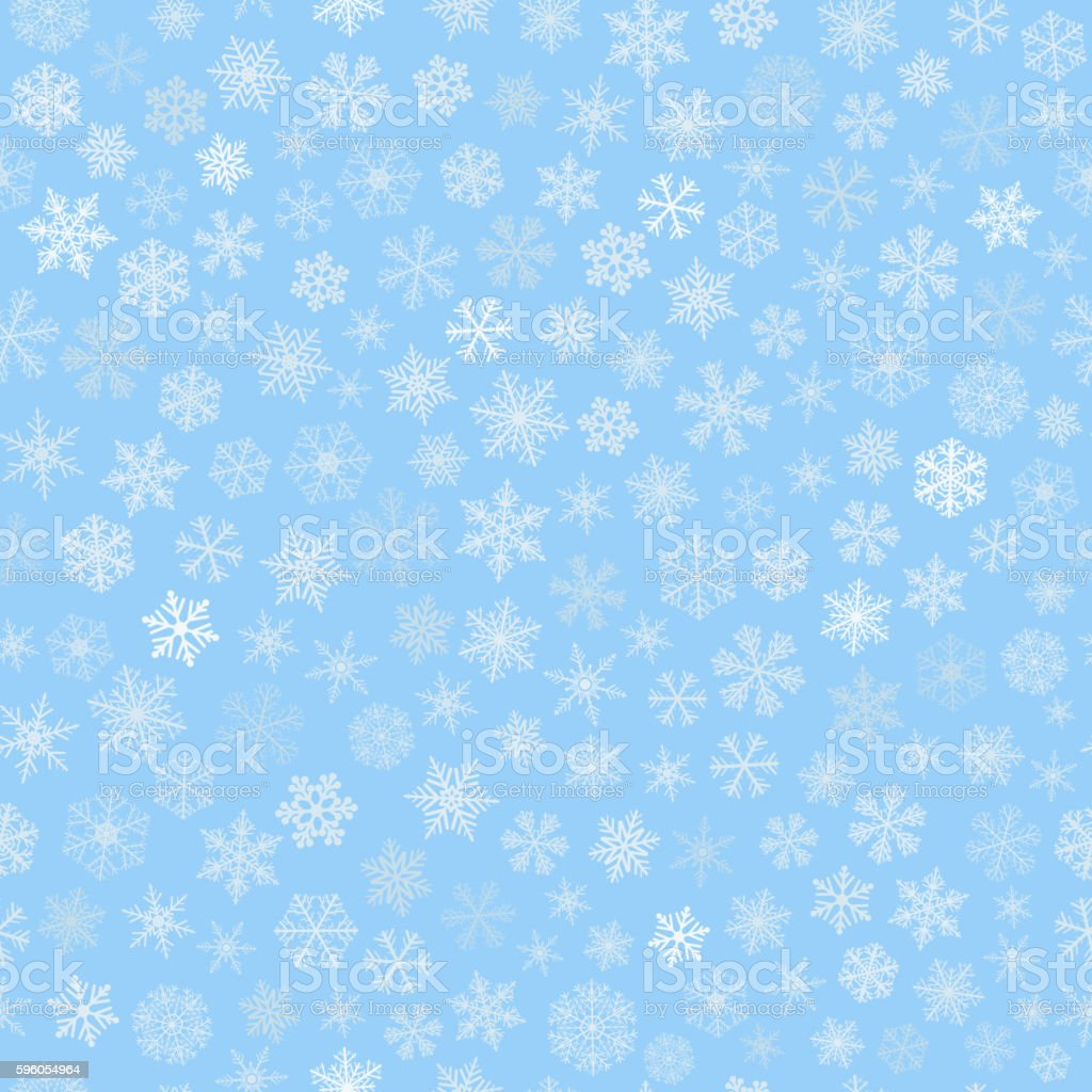 Seamless pattern of snowflakes royalty-free seamless pattern of snowflakes stock vector art & more images of backdrop