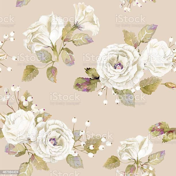 Seamless pattern of vector watercolor white roses vector id467334424?b=1&k=6&m=467334424&s=612x612&h=lhcxtju oejytct8pku9zqqgkp4qico1adanhgtta7q=
