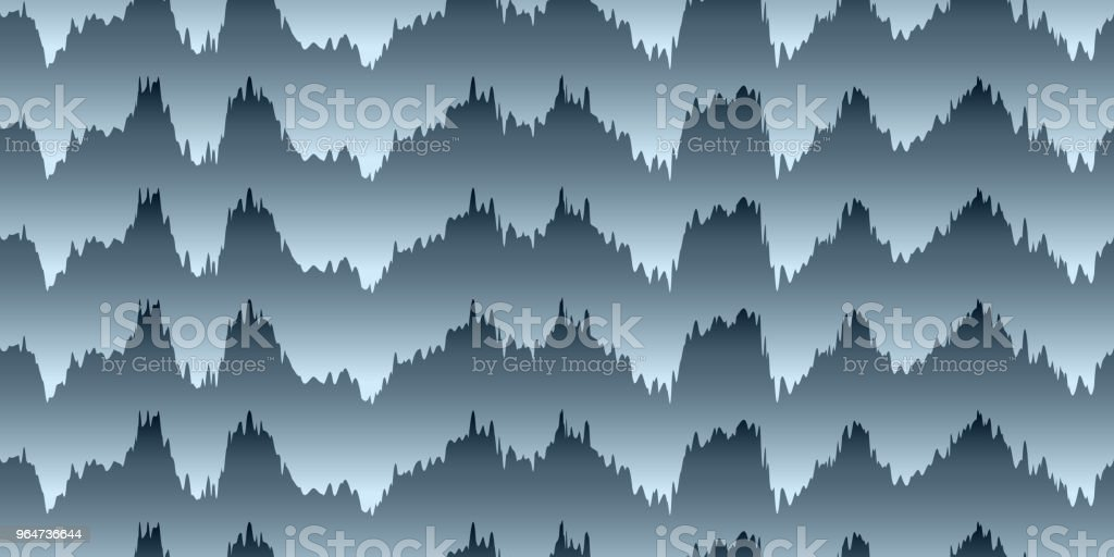 Seamless pattern of wavy lines royalty-free seamless pattern of wavy lines stock vector art & more images of abstract