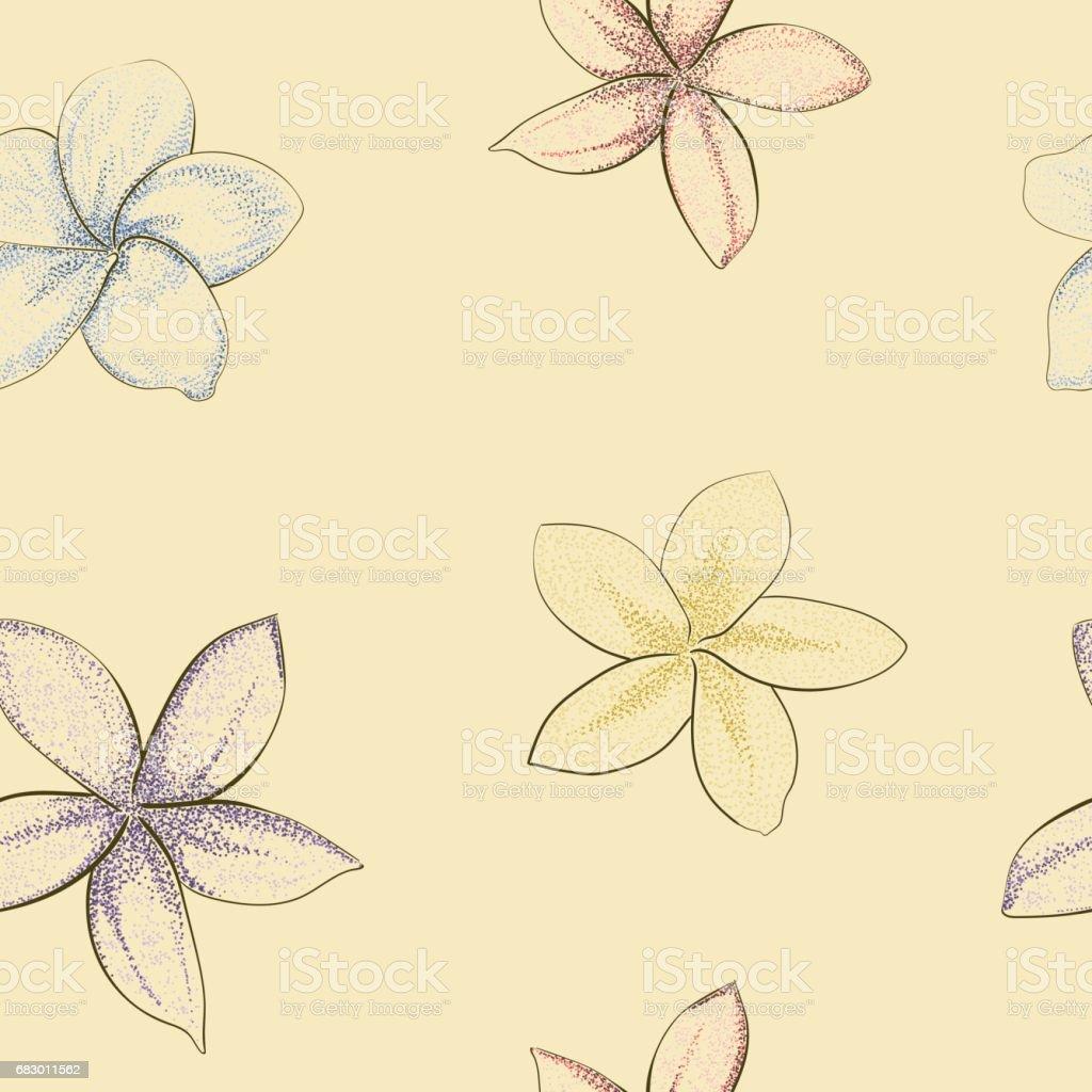 seamless pattern on beige ilustración de seamless pattern on beige y más banco de imágenes de azul libre de derechos