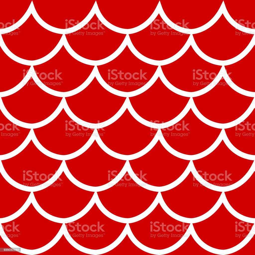 Seamless pattern on red background vector illustration vector art illustration