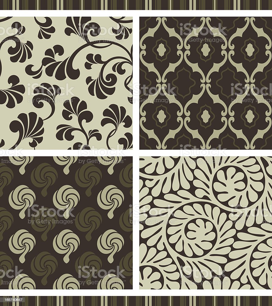 Seamless pattern - retro royalty-free seamless pattern retro stock vector art & more images of 1960-1969