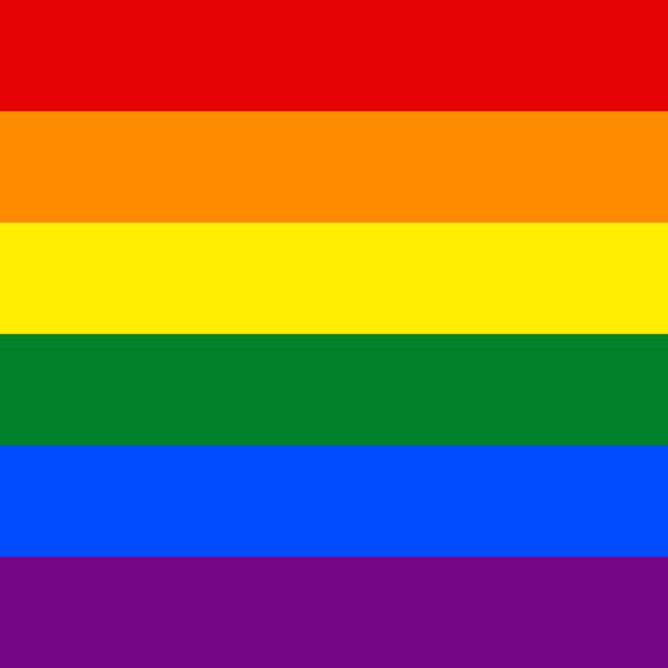Nahtlose Muster Band Regenbogenfahne LGBT-Bewegung – Vektorgrafik