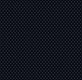 Seamless black dotted pattern in vector.