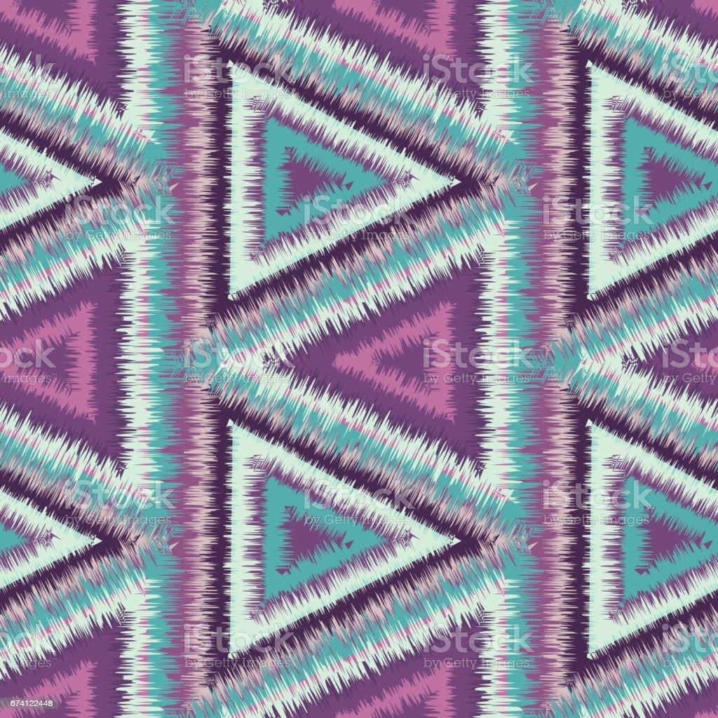 seamless pattern tribal 免版稅 seamless pattern tribal 向量插圖及更多 三角形 圖片