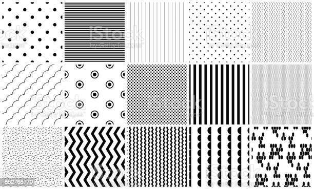 Seamless pattern vector black and white geometric textures vector id852768770?b=1&k=6&m=852768770&s=612x612&h=i3zyj0wfnj eurh2q61nuwmuj1oogqx4kboekyfydmi=