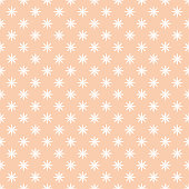 Seamless pattern. Simple elegant texture with original flowers. Pattern can be used as a background, wallpaper, wrapper, page fill, print, element of decoration.