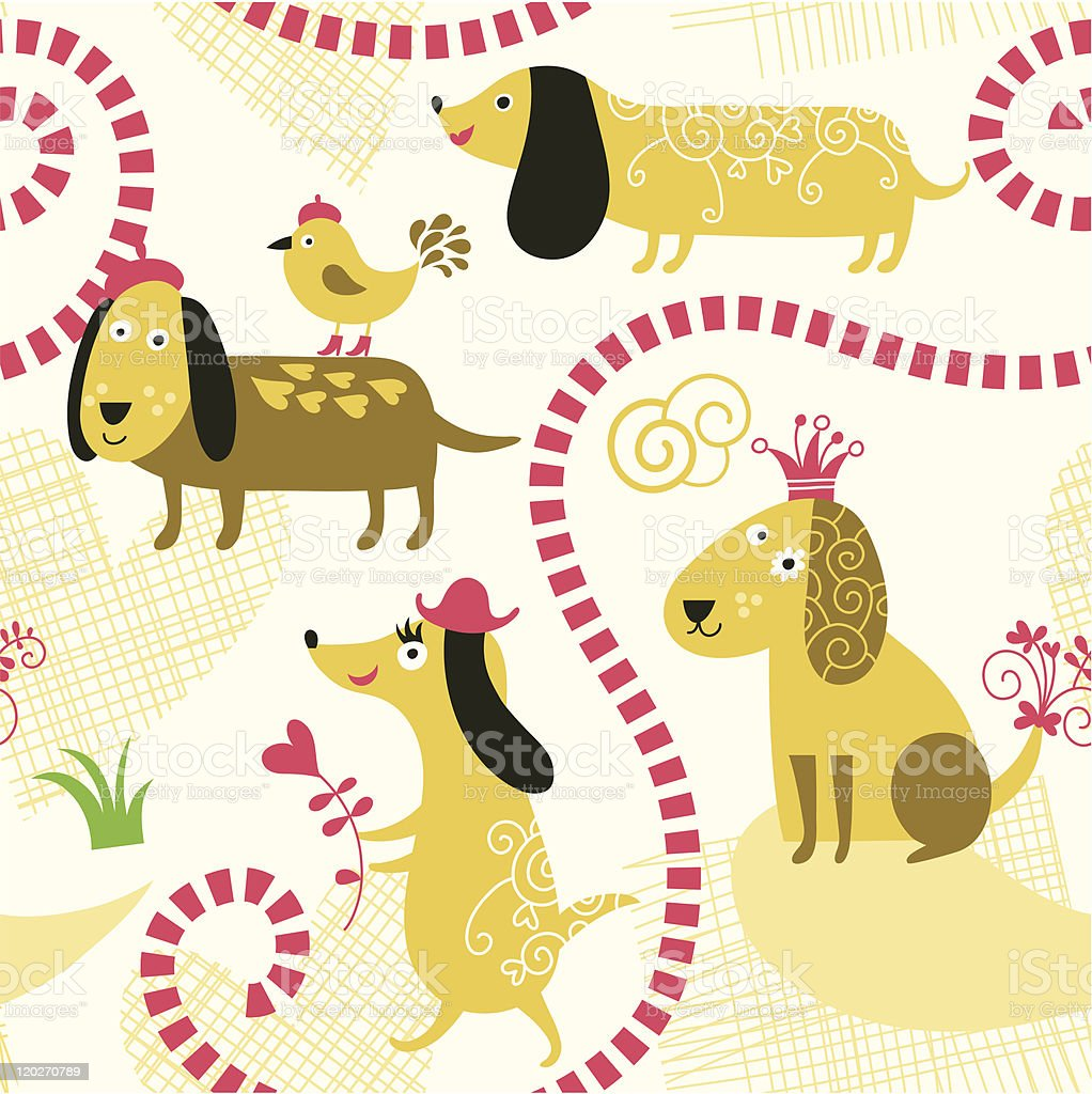 seamless pattern royalty-free seamless pattern stock vector art & more images of animal