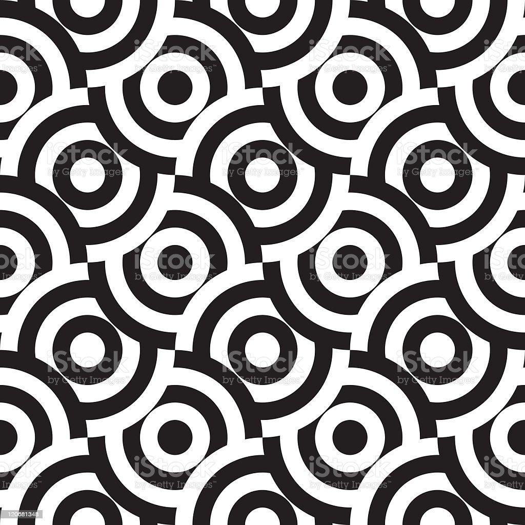 seamless pattern (vector) vector art illustration