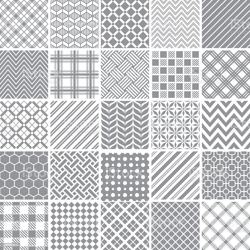 Seamless pattern vector art illustration