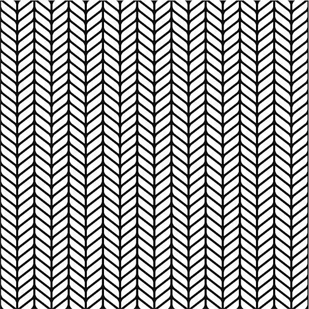 illustrazioni stock, clip art, cartoni animati e icone di tendenza di pattern senza bordi - zigzag