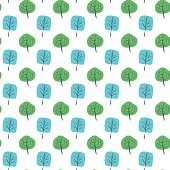 Vector illustration of a hand drawn seamless pattern