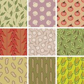 "A collection of food pattern. All design are seamless and ""pattern swatches"" included in file, for your convenient use."