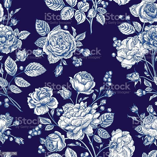 Seamless pattern wit roses vector id475881750?b=1&k=6&m=475881750&s=612x612&h=r4onbnpug3sseivf683rk163aug0hnr1wbumqqdr7 i=
