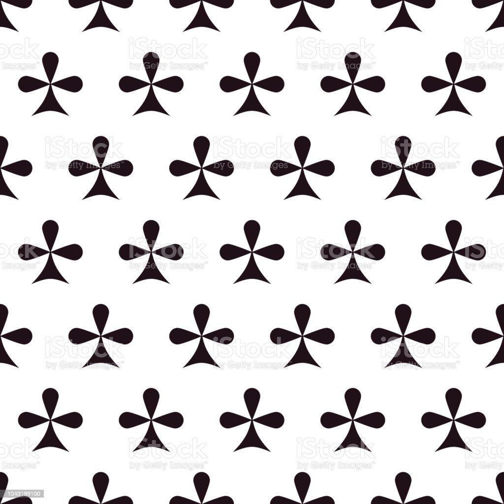 Kreuz Karte.Nahtlose Muster Mit Einem Kreuz Karte Anzug Stock Vektor Art Und Mehr Bilder Von Abstrakt