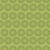 Seamless pattern with abstract geometric pattern on green background. Suitable for textile, fabric, cover, wallpaper, background, decoration