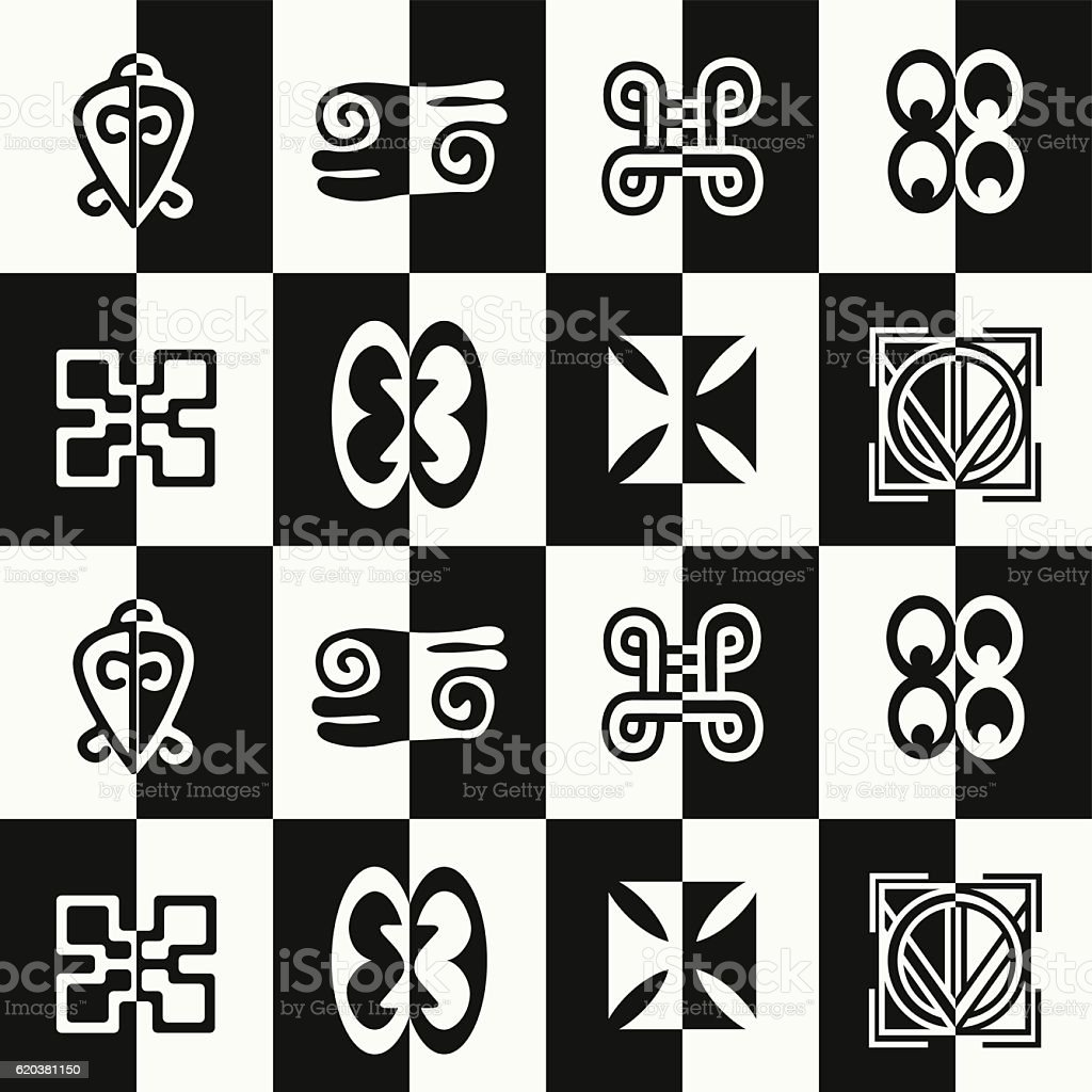 Seamless pattern with adinkra symbols stock vector art more seamless pattern with adinkra symbols royalty free seamless pattern with adinkra symbols stock vector art biocorpaavc