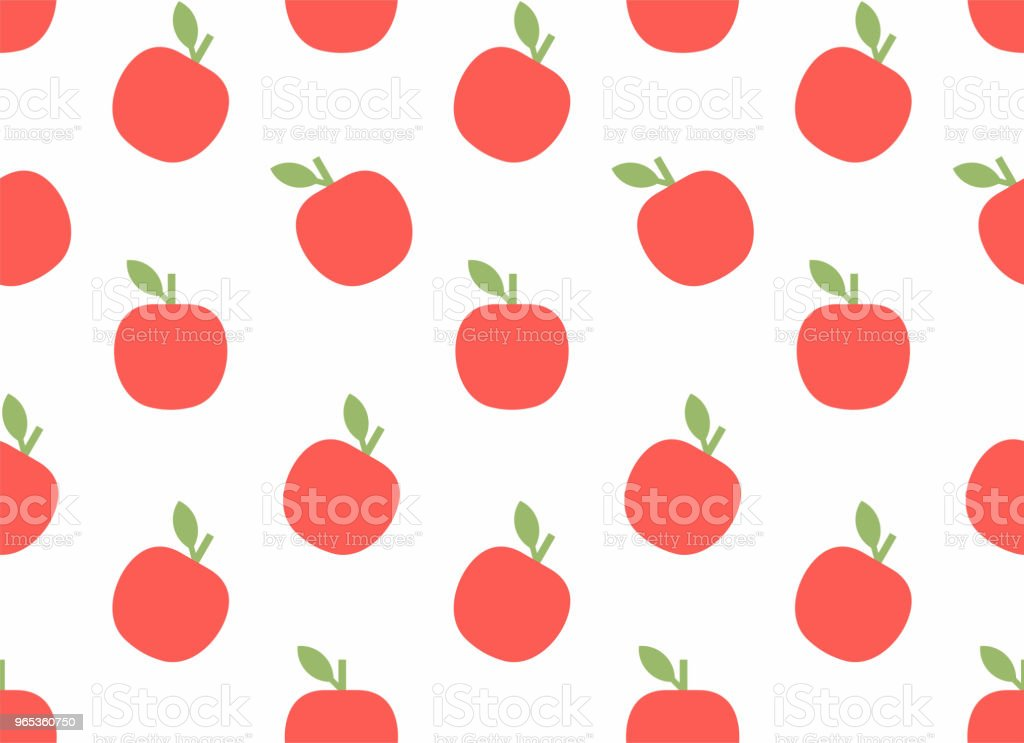 Seamless pattern with Apple seamless pattern with apple - stockowe grafiki wektorowe i więcej obrazów abstrakcja royalty-free